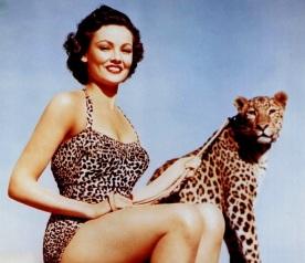 Gene Tierney cheetah